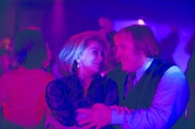 Catherine Deneuve and Gerard Depardieu star in Potiche.