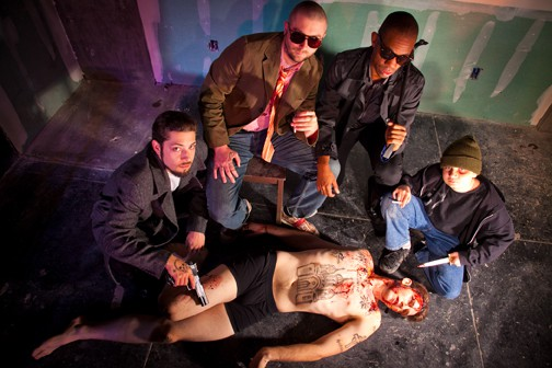 Rival factions take no prisoners in the Russian Mafia-themed Romeo and Juliet at Impact Theatre