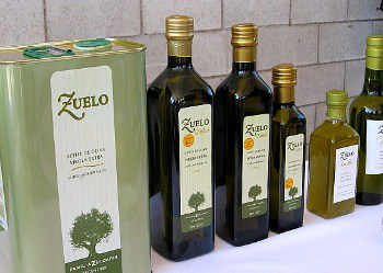 A range of olive oil from Familia Zuccardi