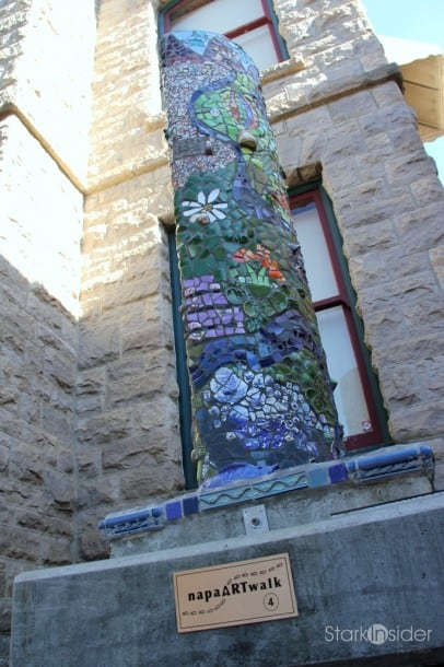 ArtWalk sculpture tour - Napa