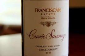 2008 Franciscan Estate Cuvee Sauvage, Chardonnay - Napa Valley