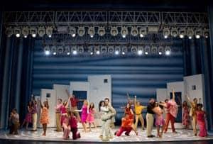 The cast of Mamma Mia! at Broadway San Jose