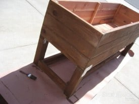 DIY Planter Box - My urban vegetable gardening dream takes flight.