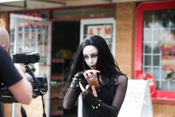 Satan's Spawn (Kacey Rohl)  Photo by Candice Albach