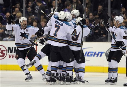 Sharks beat the Kings 6-5 in OT in an epic first round playoff game.