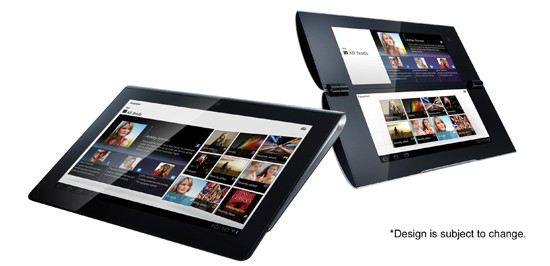 """Sony Tablet"""" S1 (Left), S2 (Right)"""