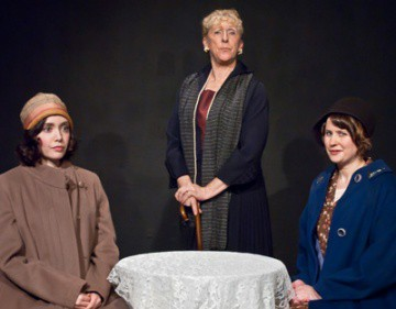 Rose (Lorie Goulart), Mrs. Graves (Marie Ballentine) and Lotty (Rebecca Wallace)