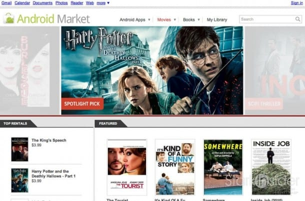 Google opens movie rental business