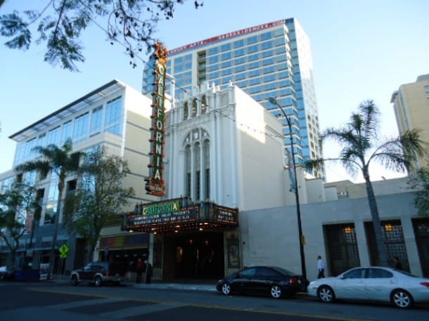 The historic California Theatre, downtown San Jose