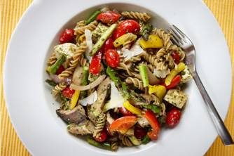Fusilli Pasta with Spring Vegetables
