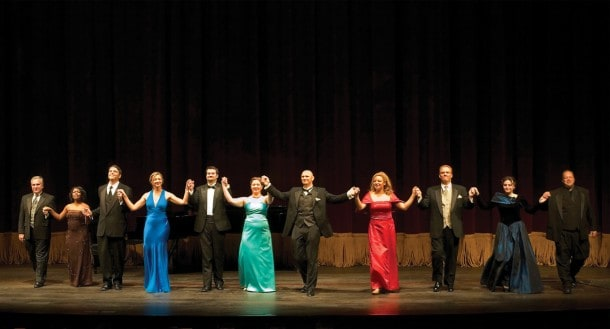 Opera San José presents the Fifth Annual Irene Dalis Vocal Competition  May 21, 2011 at the California Theatre. Photo by Robert Shomler.