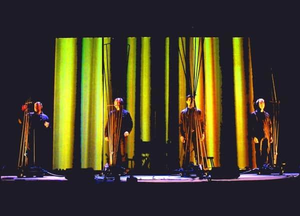 The Kronos Quartet. Photo by Zoran Orlic.