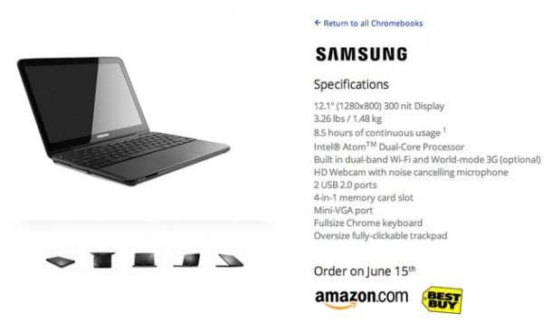 Chromebooks - the death of the Netbook?