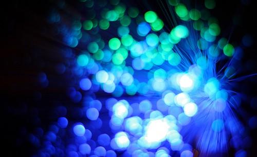 Fiber Optics - can you see the light?