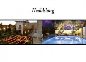 Check in for a one night stay for two at Hotel Healdsburg located on the historic town plaza amidst three premier wine valleys in North Sonoma County.