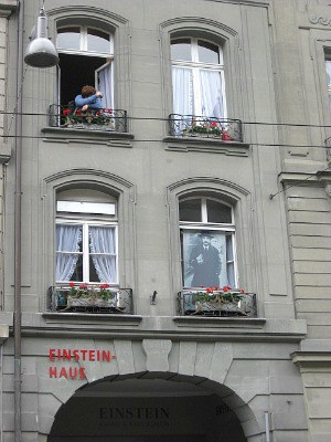 Einstein's home