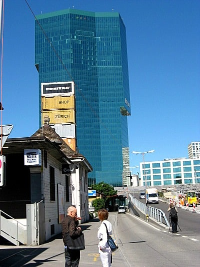 Freitag and the Prime Tower