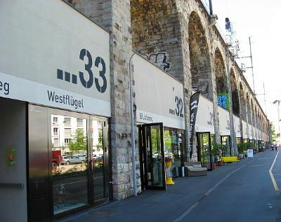 Viaduct boutiques