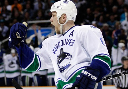 Canucks lead the Sharks 3-1 in the Western Conference Finals.