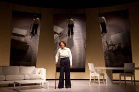 The legendary Anna Deavere Smith returns to Berkeley Rep with her latest hit: Let Me Down Easy. Photographer: Joan Marcus