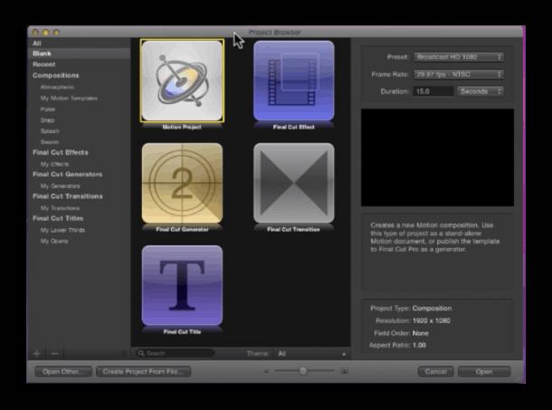 Apple Final Cut Pro X screenshot