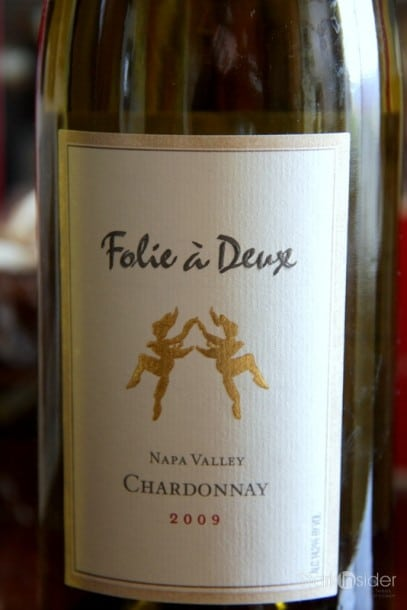 The winner: 2009 Napa Valley Chardonnay