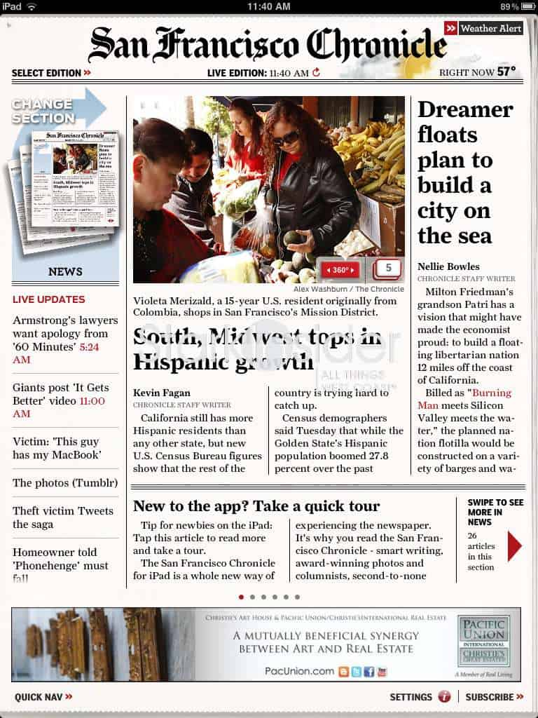 Exclusive Bay Area and San Francisco breaking news, sports, tech, and food and wine coverage, plus enhanced coverage of Giants, 49ers and Warriors.