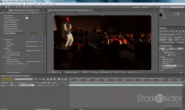 After Effects CS 5.5