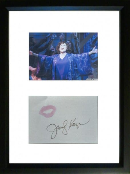 Up for Bid: Broadway Kissing Booth - Judy Kaye