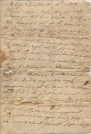 19th century letter
