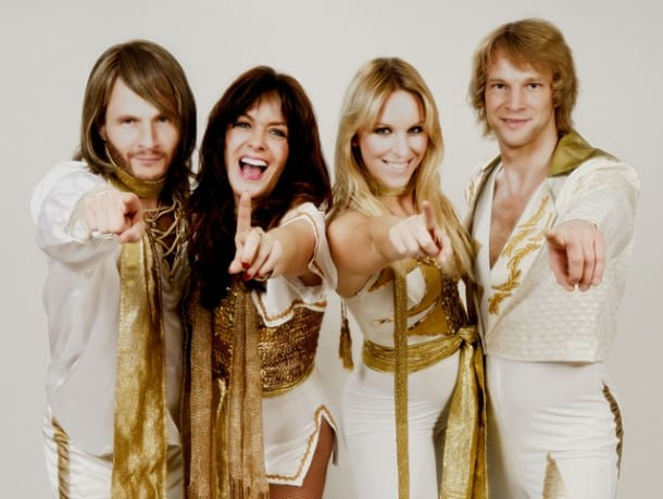 ABBA tribute band ARRIVAL performed with the San Francisco Symphony