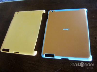 HyperShield (left) next to the AviiQ Smart Case