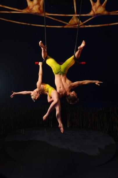 Totem - Cirque du Soleil - Trapeze