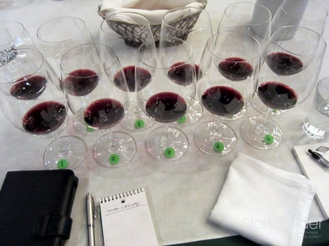 Blind tasting some of Napa's best.