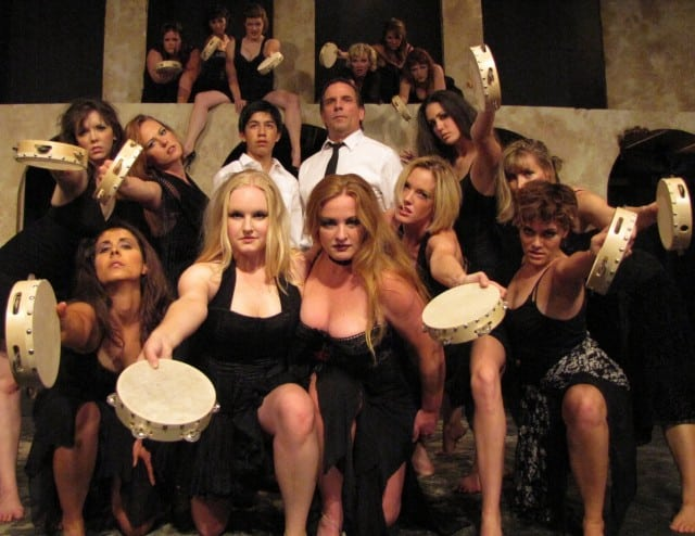 The cast of 'Nine' - City Lights Theater - San Jose