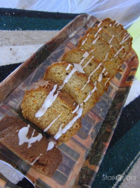 Carot cake at PanOli's