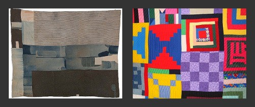 Two original Gee's Bend Quilts