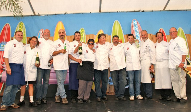 All-Star Chefs at Sonoma Wine Country Weekend