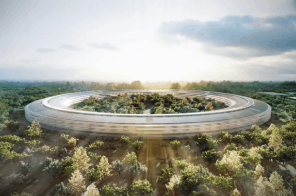 Ring of Hire: Apple's new HQ will open 2015.