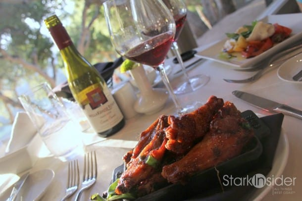 Carmel Valley Ranch Honey-Chile Chicken Wings