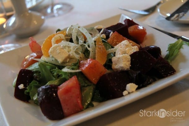 Swank Farms Organic Beet Salad