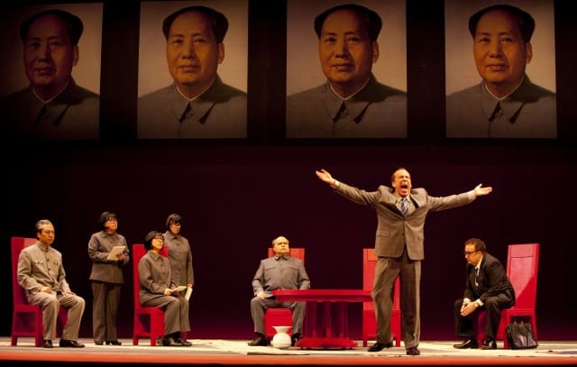 Nixon in China. Photo by Tim Matheson/Vancouver Opera.