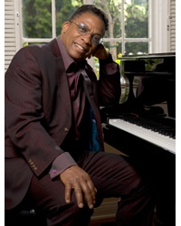 Jazz pianist Herbie Hancock comes to Cal Performances September 21, 2011.