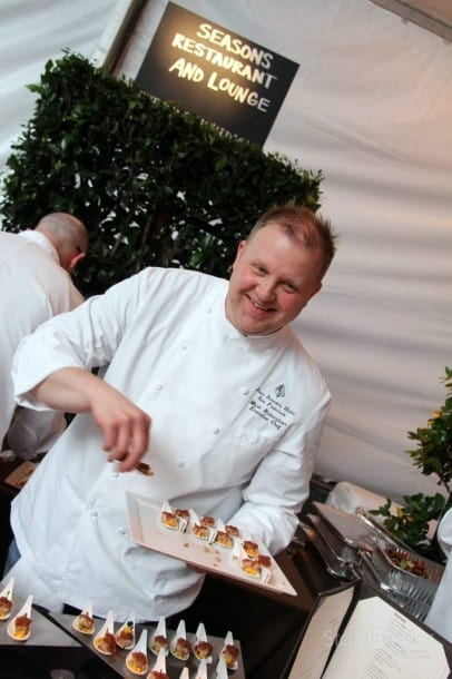 Mark Richardson, Executive Chef, Four Seasons Hotel