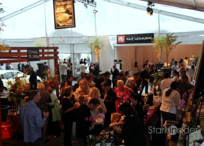 """SF Chefs 2011 Saturday Night Grand Tasting """"Decadence After Dark"""" in Union Square was a sold out event."""