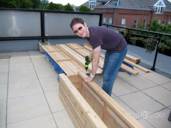 Building a Vegetable Planter Box