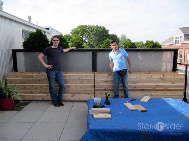 how to build a planter box with legs
