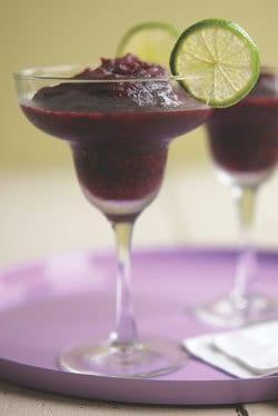 Frozen Blueberry Margarita