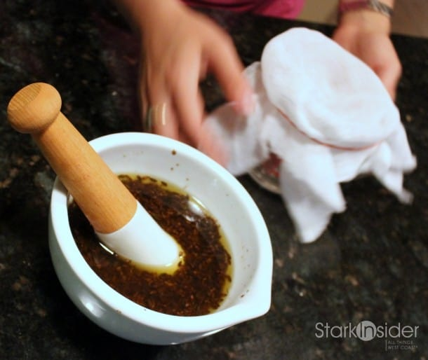 Spa Retreat: How to make lavender oil (cold pressed method