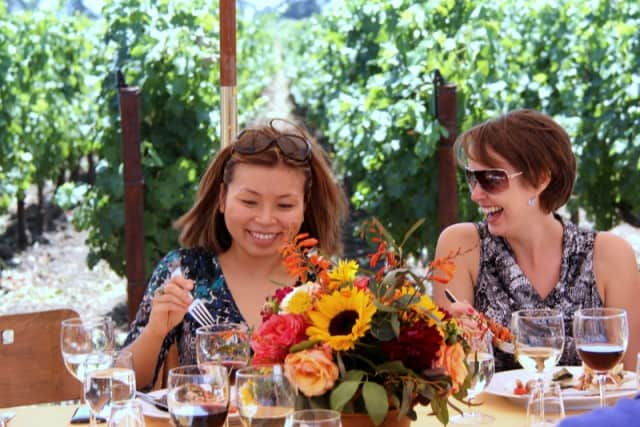 Lunch in the vineyard: Add it to your bucket list (To Kalon, Robert Mondavi Vineyard)